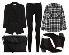 """""""street style"""" by sisaez ❤ liked on Polyvore featuring Mode, Helmut Lang, Oasis, Monki, Alexander Wang und Yves Saint Laurent"""