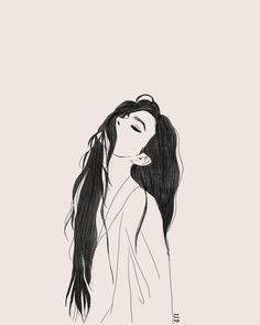 Artsy Photos, Sad Art, Cute Wallpaper Backgrounds, Wallpapers, Art Drawings Sketches Simple, Aesthetic Drawing, Cute Anime Pics, Pretty Art, Cute Illustration