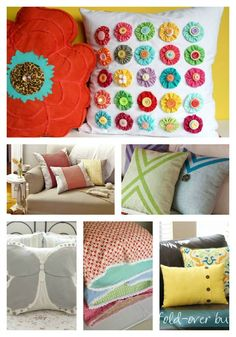 12 Favorite Pillow Tutorials - Fun Decor for Any Room or Space! Sewing Tutorials, Sewing Crafts, Sewing Projects, Projects To Try, Diy Crafts, Make Your Own Pillow, How To Make Pillows, Handmade Pillows, Decorative Pillows