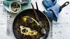 Roast cabbage with porcini and caramelised onion butter