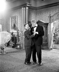 Dancing with Lurch.