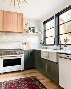 7 Design Trends That Have Defined The Last Decade (And Are Going to Stay) by DLB interior decor trends farmhouse kitchen, kitchen decor, color kitchen cabinets Küchen Design, Deco Design, Layout Design, Design Trends, Design Ideas, Home Decor Kitchen, New Kitchen, Home Kitchens, Kitchen Interior
