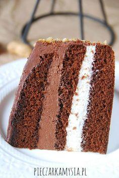 Nutella Cake, Vanilla Cake, Tiramisu, Good Food, Food And Drink, Tasty, Sweets, Snacks, Chocolate