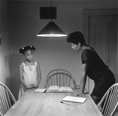 """""""Kitchen Table Series."""" ~ Carrie Mae Weems"""