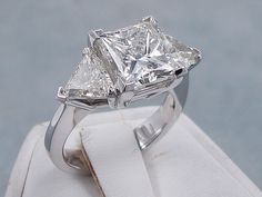 This is our stunning ctw Princess Cut Diamond Engagement Ring that has a dynamite ct Princess Cut H Clarity Center Diamond. Princess Cut Engagement Rings, Beautiful Engagement Rings, Diamond Engagement Rings, Wedding Jewelry, Wedding Rings, Dream Ring, Princess Cut Diamonds, Diamond Are A Girls Best Friend, Diamond Rings