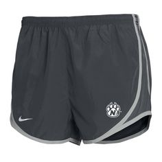 NIKE COLLEGE TEMPO SHORT $34.98  College apparel available at the book store at Northwest Missouri State University.