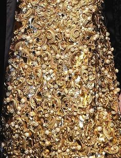 Detail, Dolce & Gabbana Fall 2012 Collection