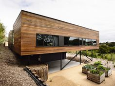 Blairgowrie House by Wolveridge Architects creates a timber-clad seaside home Residential Architecture, Interior Architecture, Australian Architecture, Commercial Architecture, Interior Design, Casas Containers, Container Architecture, Building A House, Green Building