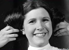 Carrie Fisher: adorable.