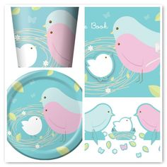 baby shower theme with birds | ... Blog Archive » Sweet Bird Designs for Baby Showers and Bridal Showers