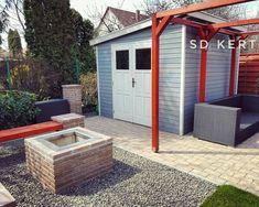 #sdkert #sdkert®️ #topgarden #gardendesigner #kert #garden #kertepites #kerttervezes ✒️📝 Pergola, Outdoor Structures, Patio, Instagram, Garden, Outdoor Decor, Home Decor, Mirrors, Garten