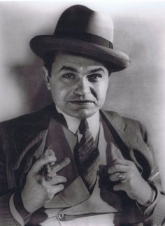Edward G. Robinson photographed by George Hurrell
