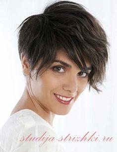 Стрижки с длинной челкой на короткие волосы, 3 фото