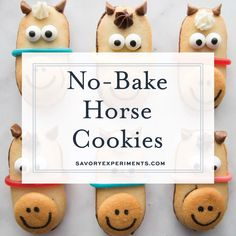 No Bake Horse Cookies are perfect for a Kentucky derby party, triple crown races, or horse themed parties! These horse cookies are the best no bake cookies! Horse Theme Birthday Party, Horse Party, Cowgirl Birthday, Cowgirl Party, Farm Birthday, Toy Story Birthday, Toy Story Party, Cowgirl Cakes, Baseball Birthday