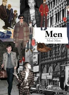"Fashion Forecast for Fall/Winter 2012-13 (Part 2). ""The rebels of today apply some beats to the swinging 60s..."""