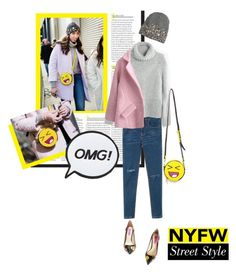 """Day Two: The Best NYFW Street Style"" by leslee-dawn ❤ liked on Polyvore featuring Madewell, H&M, Skinnydip, Betsey Johnson, Chicnova Fashion, women's clothing, women, female, woman and misses"