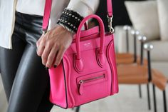 hot pink Celine mini