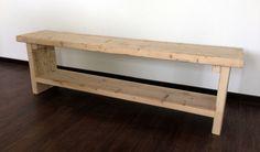 Bank aus  Bauholz,recycling-Holz, Holzbohlen   von Möbel mit Geschichte auf DaWanda.com
