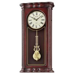 Seiko Bozorth Traditional Musical Pendulum Wall Clock