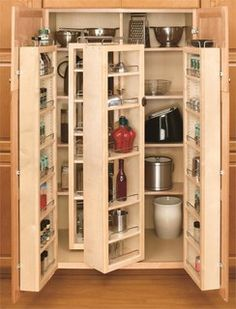 buy the revashelf natural wood direct shop for the revashelf natural wood series 45 inch swing out complete tallpantry cabinet with hardware and save