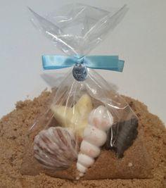 12 bolsas Favor de concha chocolate por SweetTreatsbyJessi en Etsy