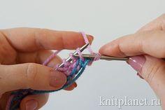 Трубчатый набор петель. Шаг 6 Personalized Items, Knitting, Tricot, Cast On Knitting, Stricken, Crocheting, Knits, Yarns, Stitches