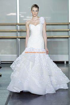 Extravagante Luxuriöse Hochzeitskleider aus Organza