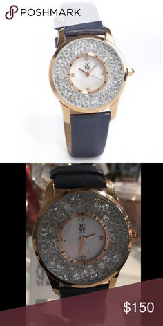 Swarovsky Crystal Jimmy Crystal Watch Jimmy Crystal New York's Stunning watches exude timeless Elegance. Made with Swarovsky Elements.   Material Type: Seiko Movement. Available in white color and Gray Accessories Watches
