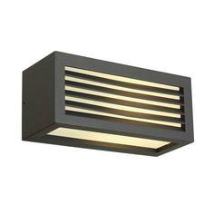 SLV Box-l E27 Antraciet 1xe27   buitenlamp 75,00