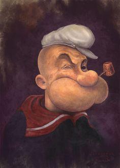 Popeye-sorry-Rembrandt