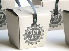 Halloween Take Out Boxes - 10. $20.00, via Etsy.