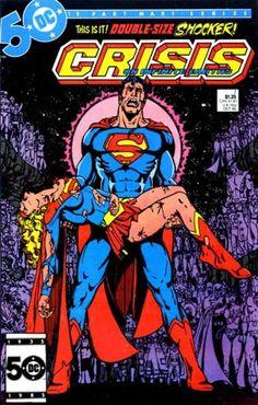 Crisis on Infinite Earths - DC Comics. Love this series!