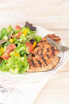 Cajun Salmon Salad | Inspiration Kitchen @kristileekaiser
