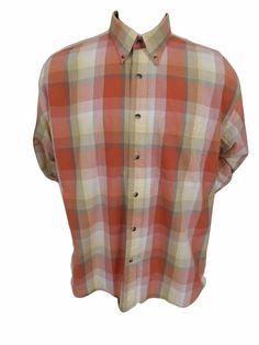 Pendelton Shirt Size XL Button Front Long Sleeve Plaid #Pendelton #ButtonFront SOLD