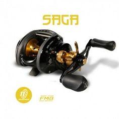 Carretilha Saga GTO 11000 SHIL Gto, Saga, Fishing, Fishing Tackle, Gone Fishing, Pisces, Fishing Rods
