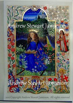 British Artist and Photographer Andrew Stewart Jamieson, Fine Art, Coats of Arms, Heraldry, Heraldic Art, Heraldic Artists, Coats of Arms, Illuminated Manuscripts, Letters Patent, Presentation Scrolls