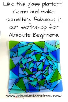 I run a selection of workshops for Absolute Beginners from my Richmond studio.  At the moment you can choose from these four workshops, they are perfect gifts to get for someone you love and want to have a shared experience with them.  They are perfect for mothers and daughters.  Bookings are essential for all my workshops as places are limited to 3 per workshop so you get loads of individual attention.