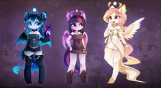 (and older Selena/Luna) Yes, Twi will be taller than Luna Also, Luna's mane sometimes switch to white. Arte My Little Pony, My Little Pony Cartoon, My Little Pony Princess, My Little Pony Characters, My Little Pony Drawing, My Little Pony Pictures, Celestia And Luna, My Little Pony Wallpaper, Little Poni