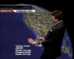 A tropical storm... in my pants!