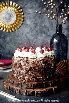 Recette de la Forêt-noire gâteau allemand