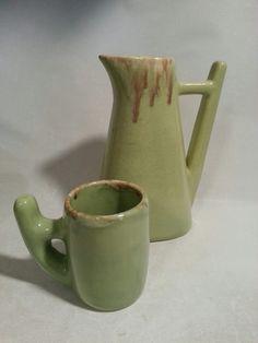 Attribué à Claude Vermette Watering Can, Mugs