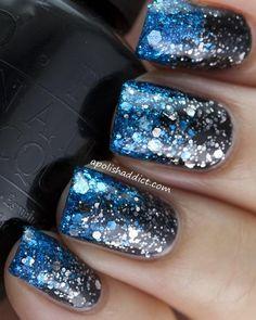 Glitter on Glitter Gradient.