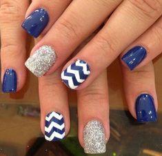 +70 Fotos de uñas decoradas para el verano – Summer Nail Art | Decoración de Uñas - Manicura y Nail Art                                                                                                                                                                                 Más