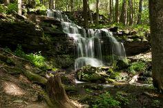 Gunn Brook Falls - Sunderland by Evan Gregg