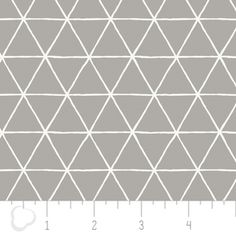 Camelot Cottons House Designer - Nordic - Grid in Zinc