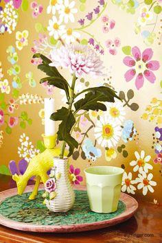 Eijffinger Rice behang 359071 Bloemen