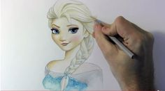 If you follow us here on Draw Central, there's a good chance you've seen me post some tutorials done by artist Mark Crilley in the past. It's no secret that he's one of my favorite artists, and YouTubers. One of his more recent tutorials is how to draw Elsa, from the uber popular Disney movie, …