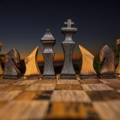 Bourbon Barrel Chess Set - what a lovely way to enjoy a drink with a friend