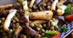 Fried Beef Skirt Steak and Potatoes Recipe - Ker u Sus - comfort dish ...