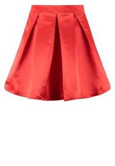 Mint&berry Falda Plisada Rojo vestidos y faldas Rojo plisada Mint&berry falda CentralModa.eu